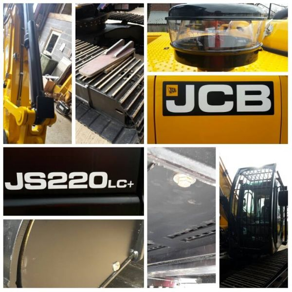 New JCB having its armour fitted! Another JCB to join the fleet to meet demand. : Swipe To View More Images