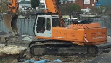 Concrete Crushing - New Retail Park - Featherstone, West Yorkshire