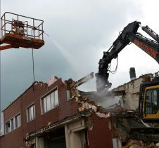 Demolition of Unilever Factory, Coal Road - Leeds