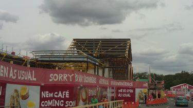 Full Demoliton of Sainsbury's Store - Lincoln