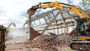 Demolition and Asbestos Removal - Travis Perkins - Cheltenham