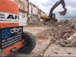 A.R.T. on the road to completing a highly sensitive demolition project in Leeds with AWD.: Click Here To View Larger Image