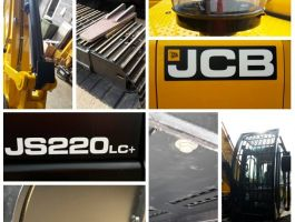 New JCB having its armour fitted! Another JCB to join the fleet to meet demand. : Click Here To View Larger Image