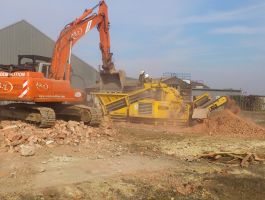 Compact crushing options as well as large scale activities.: Click Here To View Larger Image