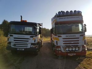 Scania Hook Loader